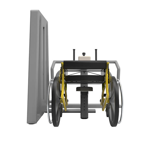 owheel con chest press frontale